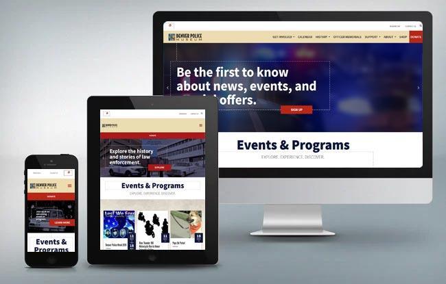 denver police museum mobile tablet and desktop