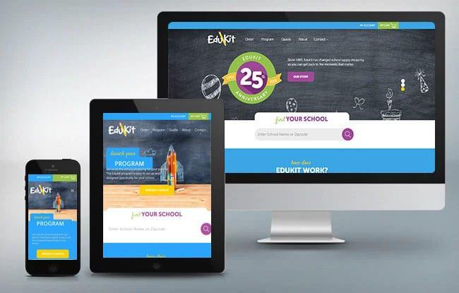 edukit new website designer