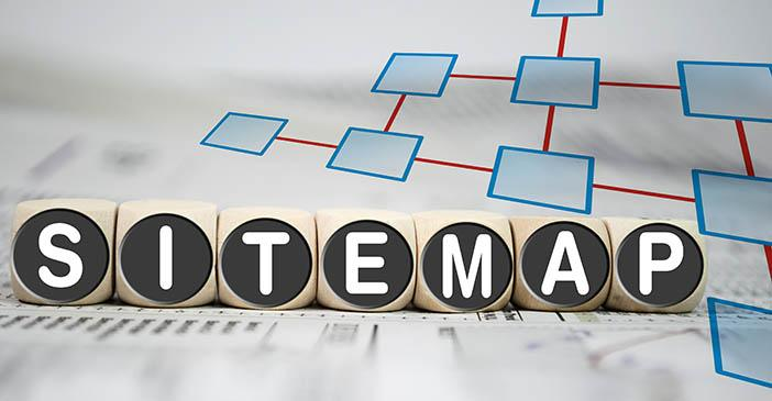 sitemap for your website